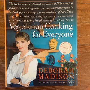 Vegetarian Cooking for Everyone Cookbook *NWOT*